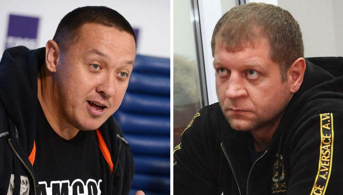 Михаил Кокляев и Александр Емельяненко (коллаж)