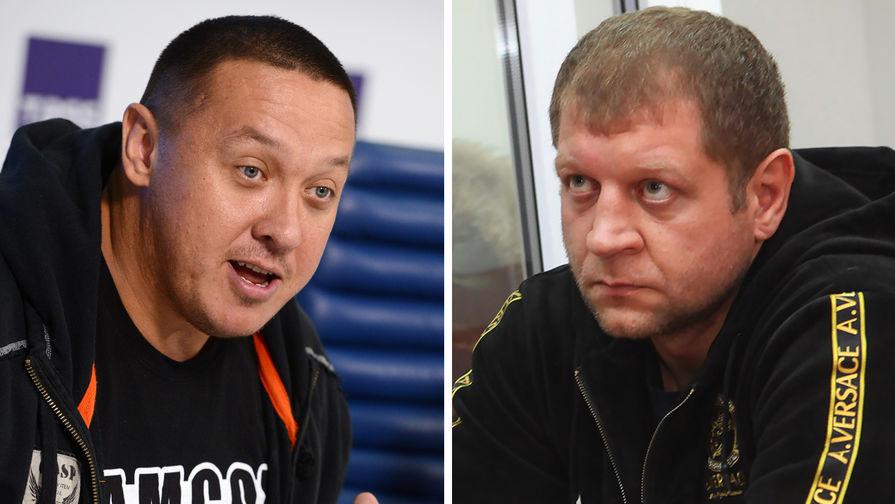 Емельяненко и Кокляев дали пресс-конференцию перед боем