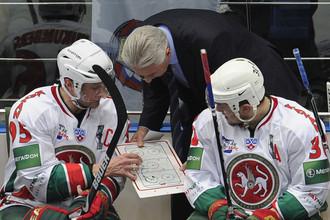 Алексей Морозов (справа) впервые в сезоне получил вызов в сборную