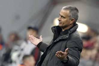 Жозе Моуриньо был недоволен действиями подопечных в первом тайме