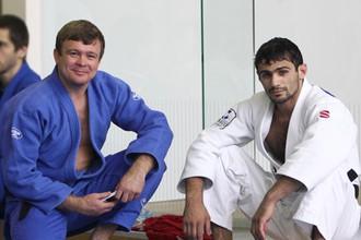 Арсен Галстян (справа) готов побороться за высшую награду Игр
