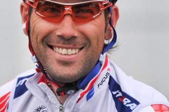 Чемпион России по велоспорту Владимир Исайчев