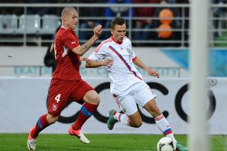 На молодежном чемпионате Европы-2013 Денис Черышев был лидером сборной России