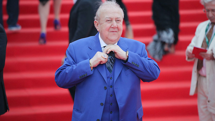 Скульптор Зураб Церетели во время церемонии открытия 36-го Московского международного кинофестиваля
