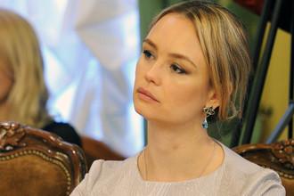 Победительница конкурса «Миссис Москва», телеведущая Надежда Юшкина