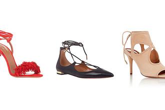 Модели обуви Sexy Thing, Christy и Wild Thing, Aquazzura