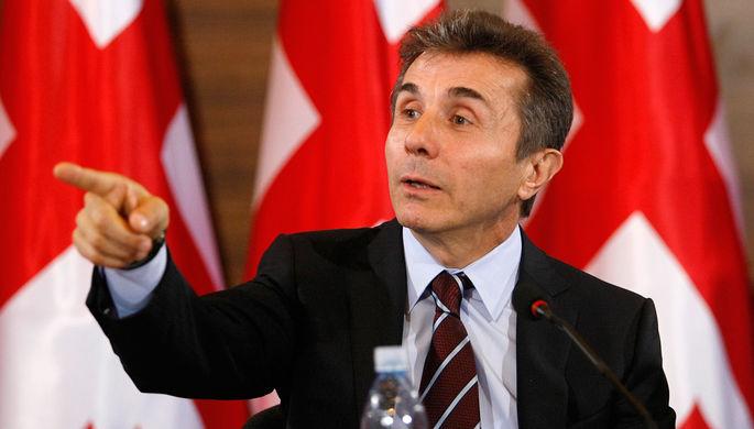 Бывший премьер-министр Грузии, лидер партии «Грузинская мечта» Бидзина Иванишвили