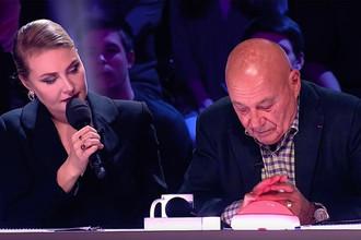 Рената Литвинова и Владимир Познер в программе «Минута славы»