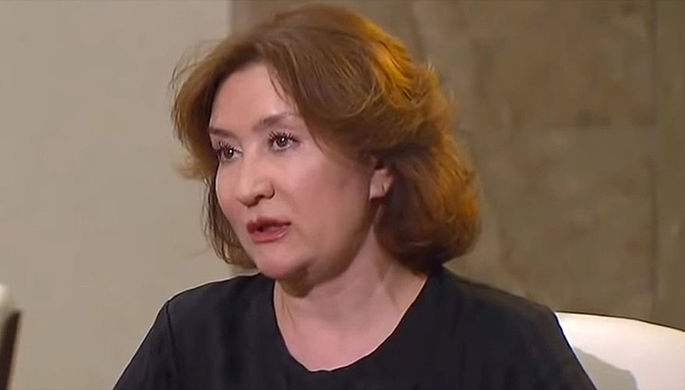Cудья Елена Хахалева (кадр из видео)