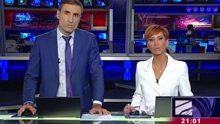 «Тотальная чистка»: журналисты «Рустави 2» уволились в прямом эфире