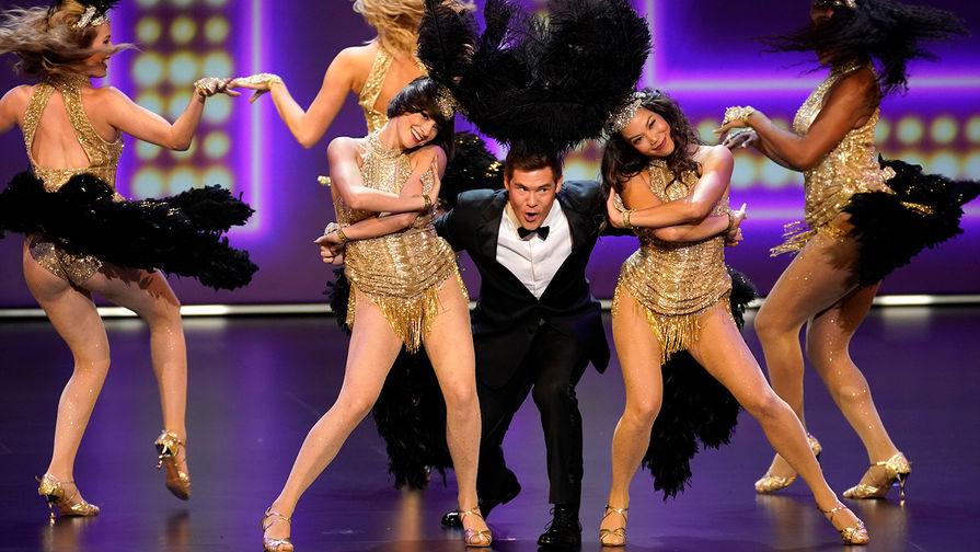 Адам Дивайн во время церемонии вручения премии «Эмми» вЛос-Анджелесе, 22 сентября 2019 года