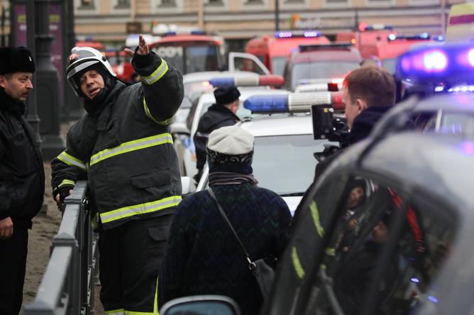 Последствия взрыва в метро в Санкт-Петербурге, 3 апреля 2017 года