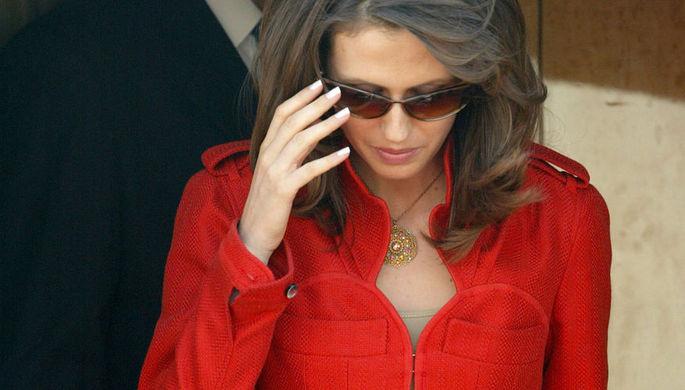 Асма Асад, жена президента Сирии Башара Асада, 2005 год