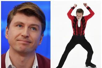 Алексей Ягудин и Михаил Коляда