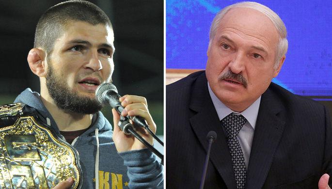 «Все подготовим»: Белоруссия предложила принять бой Хабиба