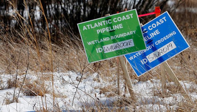 Наследие Обамы: «зеленые» сорвали крупнейший газовый проект в США