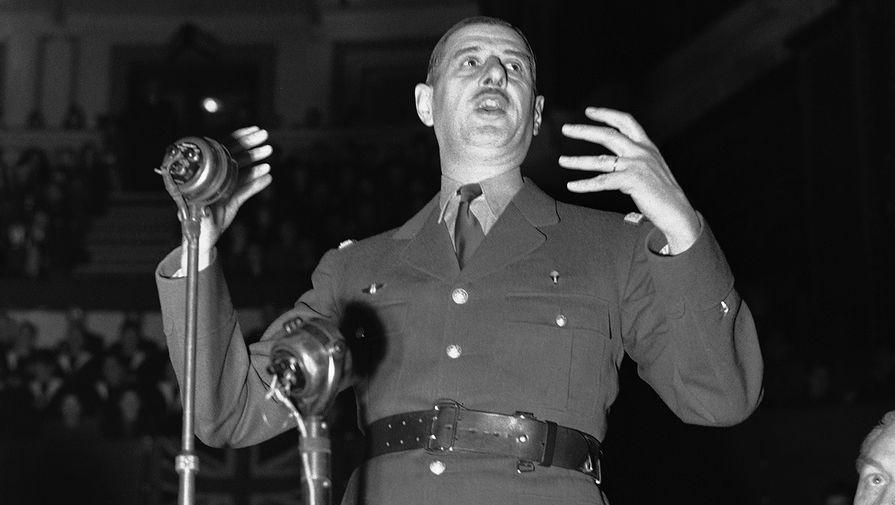 Генерал Шарль Де Голль в Лондоне, 1941 год