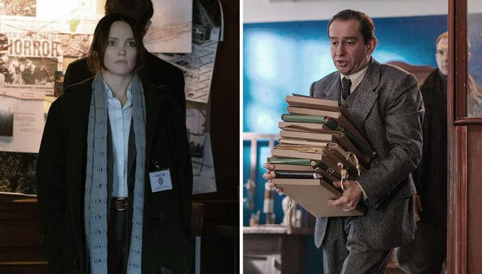 Кадры из сериалов «Кларисса» и «За час до рассвета» (2021)