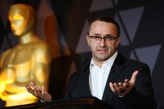 Режиссер Андрей Звягинцев на церемонии «Оскар», 2 марта 2018 года