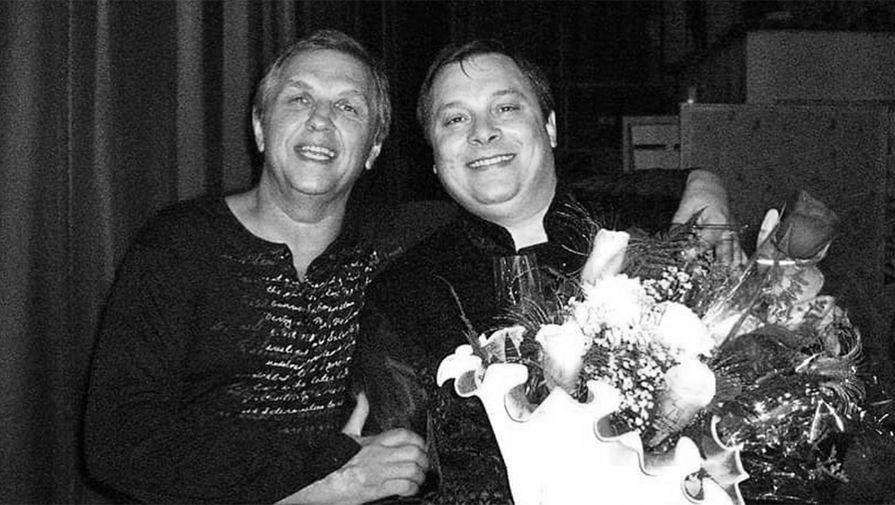 Автор хитов «Ласкового мая» Владимир Бойко (слева) и Андрей Разин