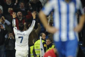 Дубль Криштиану Роналду принес «Реалу» победу над «Реалом Сосьедад»