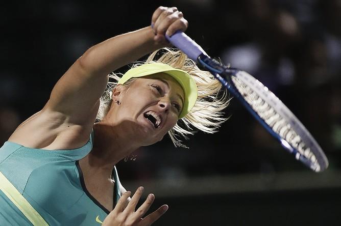 Мария Шарапова осталась единственной представительницей России на турнире в Майами