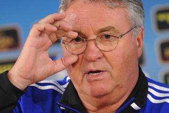 Гус Хиддинк, главный тренер «Анжи»