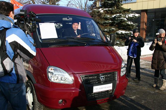 Будущим главой «АвтоВАЗа» может стать нынешний президент группы «ГАЗ» Бо Андерссон (за рулем)