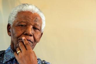 Нельсон Мандела. 2005 год