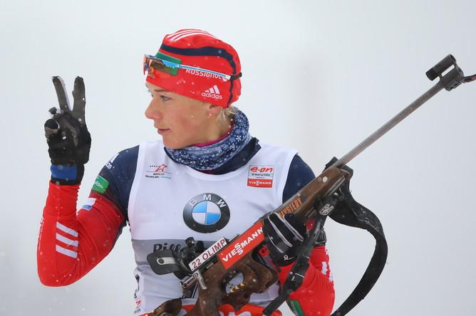 Состоялся мужской и женский спринт на втором этапе Кубка мира по биатлону сезона-2013/14 в Хохфильцене.