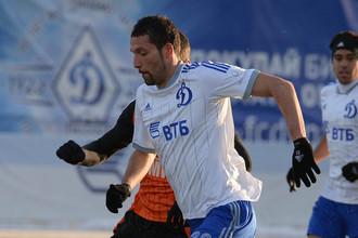 Форвард «Динамо» Кевин Кураньи и его партнеры по команде начали подготовку к весенней части сезона