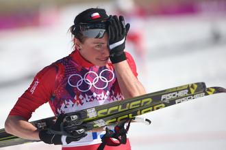 Лыжница Юстина Ковальчик из Польши стала безоговорочной победительницей гонки на 10 км классическим стилем