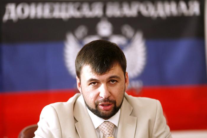 Председатель президиума Верховного совета самопровозглашенной ДНР Денис Пушилин