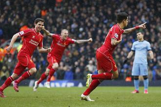Только что Фелиппе Коутиньо (справа) принес «Ливерпулю» победу