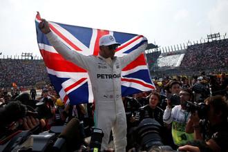 Четырехкратный чемпион «Формулы-1» Льюис Хэмилтон
