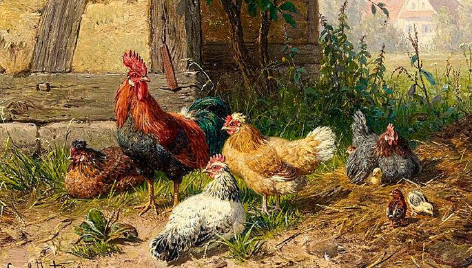 «Птичий двор». Даниэль Шульц