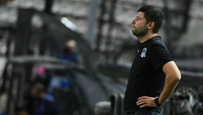 Виктор Гончаренко на посту главного тренера «Краснодара»