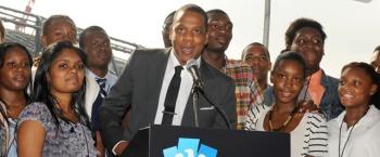 Jay-Z на специальной церемонии объявил о будущей смене прописки клуба «Нетс»