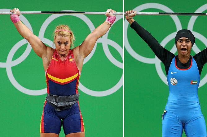 Тяжелая атлетика: Испания и ОАЭ