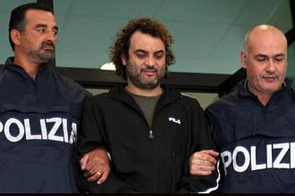 Антонио Пелле после ареста в 2008 году