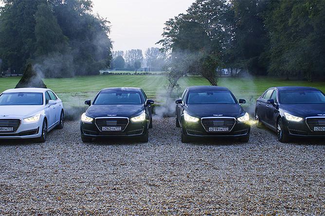 Все автомобили Genesis оснащаются полным приводом HTRAC: 100% крутящего момента, при необходимости, может быть направлено на задние или передние колеса