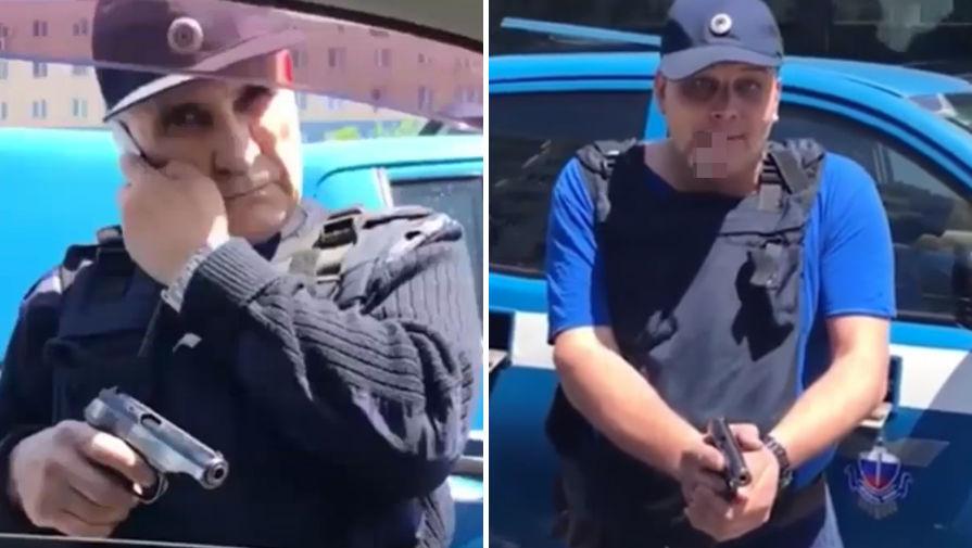 Угрожавшие водителю сотрудники спецсвязи отстранены от работы во Владивостоке