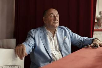 Борис Клюев на сборе труппы Государственного академического Малого театра России в Москве, 2016 год