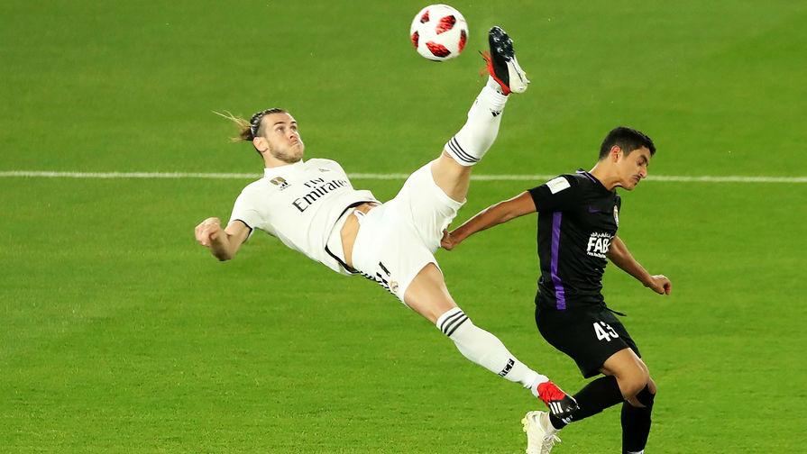 Игрок «Реала» Бэйл застраховал свою левую ногу