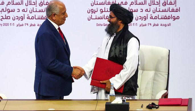 Мешают мирному процессу: талибы* опровергли сговор с Россией
