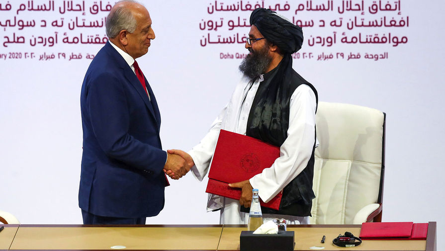 Война окончена: США подписали мир с талибами*