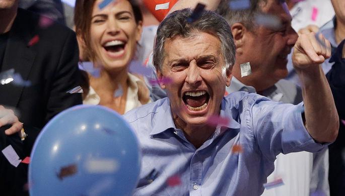 На выборах президента Аргентины победил оппозиционер-правоцентрист Маурисио Макри