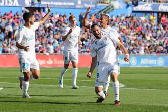 «Реал» принимает «Тоттенхэм» в матче Лиги чемпионов