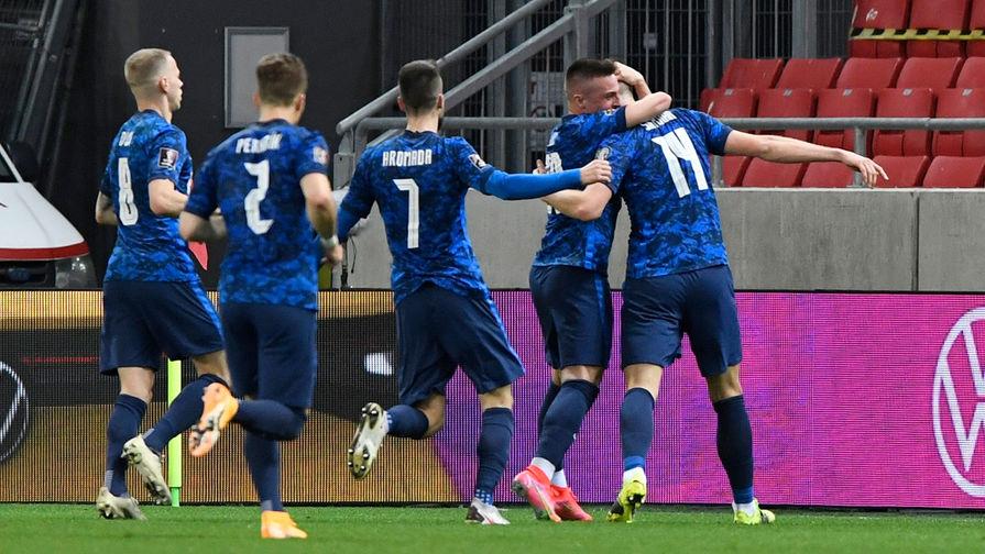 Сборная Словакии одержала победу над Польшей на Евро-2020