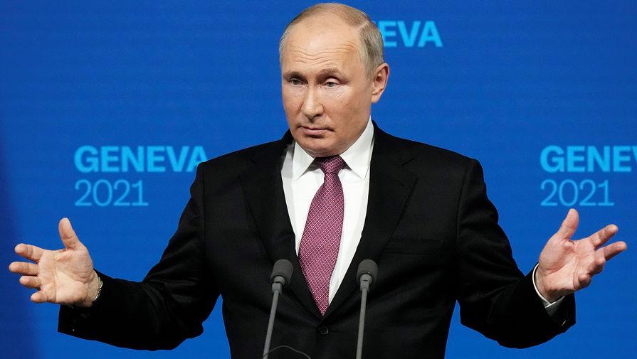 Путин объяснил девочке из Канады, почему важен его саммит с Байденом